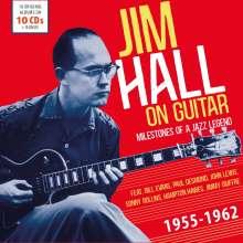 Jim Hall (1930-2013): On Guitar (Milestones Of A Jazz Legend), 10 CDs