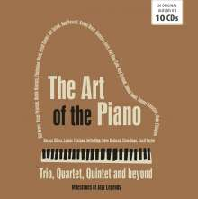 The Art Of The Piano Trio, Quartet, Quintet And Beyond (Milestones Of Jazz Legends), 10 CDs