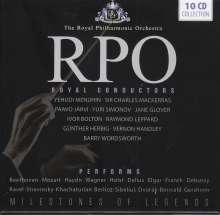 Royal Philharmonic Orchestra - Royal Conductors, 10 CDs