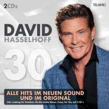 David Hasselhoff: 30, 2 CDs