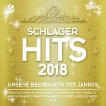 Schlager Hits 2018, 3 CDs und 1 DVD