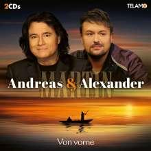 Andreas Martin & Alexander Martin: Von vorne, 2 CDs
