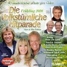 Die volkstümliche Hitparade Frühling 2020, 2 CDs