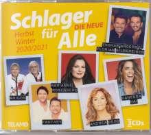 Schlager für Alle: Die Neue - Herbst/Winter 20/21, 3 CDs