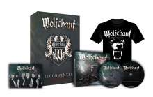 Wolfchant: Bloodwinter (Limited Special Deluxe Box + Shirt Gr. L), 2 CDs und 1 T-Shirt