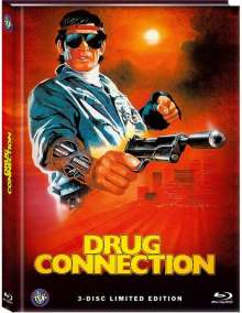 Drug Connection - A Man from Holland (Blu-ray & DVD im Mediabook), 1 Blu-ray Disc und 2 DVDs