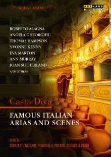 Great Arias - Famous Italian Arias And Scenes, DVD