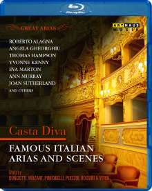 Great Arias - Famous Italian Arias And Scenes, Blu-ray Disc