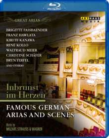 Great Arias - Famous German Arias And Scenes, Blu-ray Disc