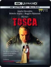 Giacomo Puccini (1858-1924): Tosca (Opernfilm) (4K Ultra HD), Ultra HD Blu-ray