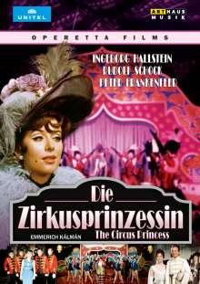 Emmerich Kalman (1882-1953): Die Zirkusprinzessin (Operettenfilm), DVD