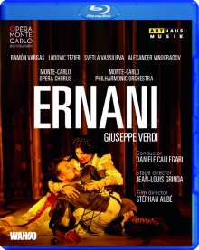 Giuseppe Verdi (1813-1901): Ernani, Blu-ray Disc