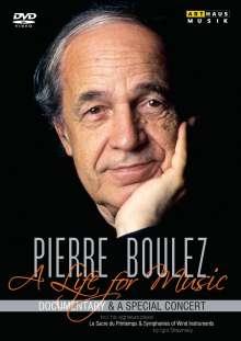 Pierre Boulez - A Life for Music, 2 DVDs