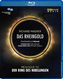 Richard Wagner (1813-1883): Das Rheingold, Blu-ray Disc