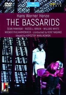 Hans Werner Henze (1926-2012): Die Bassariden, 2 DVDs
