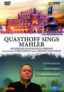 Quasthoff sings Mahler, DVD