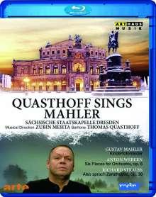 Quasthoff sings Mahler, Blu-ray Disc