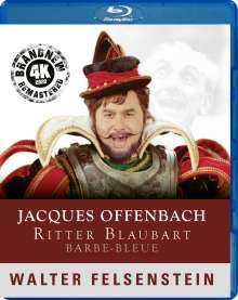 Jacques Offenbach (1819-1880): Barbe Bleue (Walter Felsenstein-Edition / 4K Remastering 2020), Blu-ray Disc