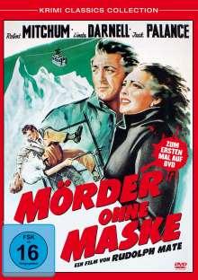 Mörder ohne Maske, DVD
