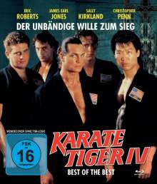Karate Tiger 4 - Best of the Best (Blu-ray), Blu-ray Disc