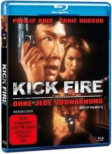 Kick Fire - Ohne jede Vorwarnung (Blu-ray), Blu-ray Disc