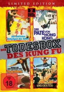 Die Todesbox des Kung Fu (4 Filme auf 2 DVDs), 2 DVDs