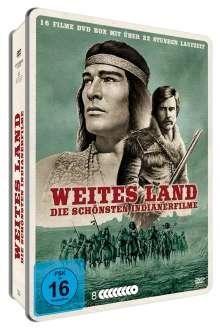 Weites Land - Die schönsten Indianerfilme (16 Filme auf 8 DVDs im Metal-Pack), 8 DVDs
