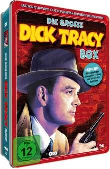 Die grosse Dick Tracey Box (Deluxe-Metallbox), 4 DVDs