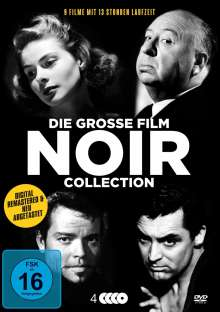 Die grosse Film Noir Collection (9 Filme auf 4 DVDs), 4 DVDs