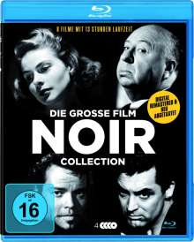 Die grosse Film Noir Collection (8 Filme auf 4 Blu-rays), 4 Blu-ray Discs