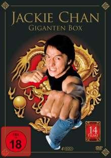 Jackie Chan Gigantenbox (14 Filme auf 4 DVDs), 4 DVDs