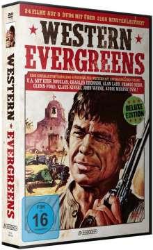 Western Evergreens (24 Films auf 8 DVDs inkl. Sheriff-Stern), 8 DVDs