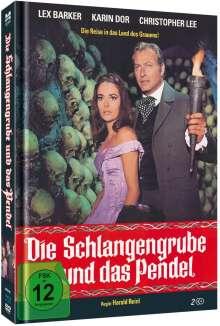 Die Schlangengrube und das Pendel (Blu-ray & DVD im Mediabook), 1 Blu-ray Disc und 1 DVD
