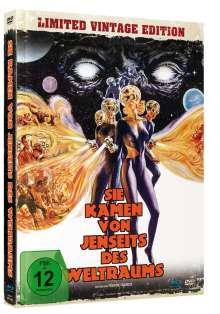 Sie kamen von jenseits des Weltraums (Blu-ray & DVD im Mediabook), 1 Blu-ray Disc und 1 DVD