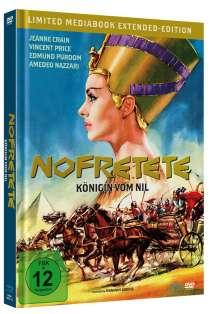 Nofretete - Königin vom Nil (Blu-ray & DVD im Mediabook), 1 Blu-ray Disc und 1 DVD