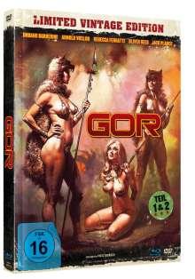 GOR 1 & 2 (Blu-ray & DVD im Mediabook), 1 Blu-ray Disc und 1 DVD