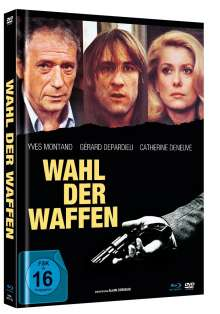 Wahl der Waffen (Blu-ray & DVD im Mediabook), 1 Blu-ray Disc und 1 DVD