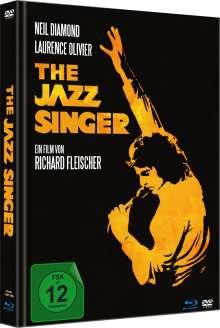The Jazz Singer (1980) (Blu-ray & DVD im Mediabook), 1 Blu-ray Disc und 1 DVD