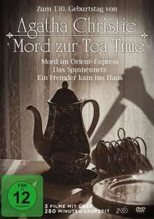 Agatha Christie - Mord zur Tea Time (3 Filme auf 2 DVDs), DVD