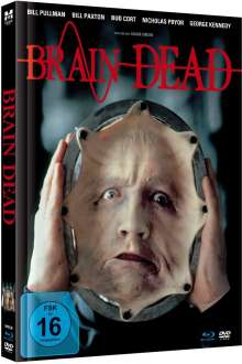 Brain Dead (Blu-ray & DVD im Mediabook), 1 Blu-ray Disc und 1 DVD