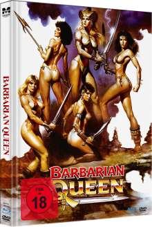 Barbarian Queen (Blu-ray & DVD im Mediabook), 1 Blu-ray Disc und 1 DVD