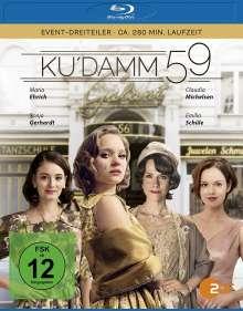Ku'damm 59 (Blu-ray), 1 Blu-ray Disc und 1 DVD