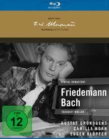 Friedemann Bach (Blu-ray), Blu-ray Disc