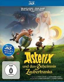 Asterix und das Geheimnis des Zaubertranks (3D Blu-ray), Blu-ray Disc