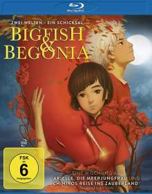 Big Fish & Begonia (Blu-ray), Blu-ray Disc