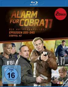 Alarm für Cobra 11 Staffel 42 (Blu-ray), 2 Blu-ray Discs