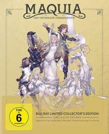 Maquia - Eine unsterbliche Liebesgeschichte (Limited Collector's Edition) (Blu-ray), Blu-ray Disc