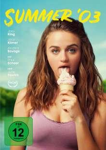 Summer '03, DVD