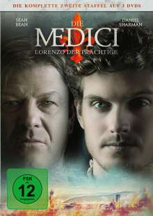 Die Medici Staffel 2 - Lorenzo der Prächtige, 3 DVDs