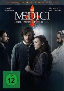 Die Medici Staffel 3 - Lorenzo der Prächtige (finale Staffel), 3 DVDs
